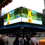 Tropicana Pure Premium in Times Square
