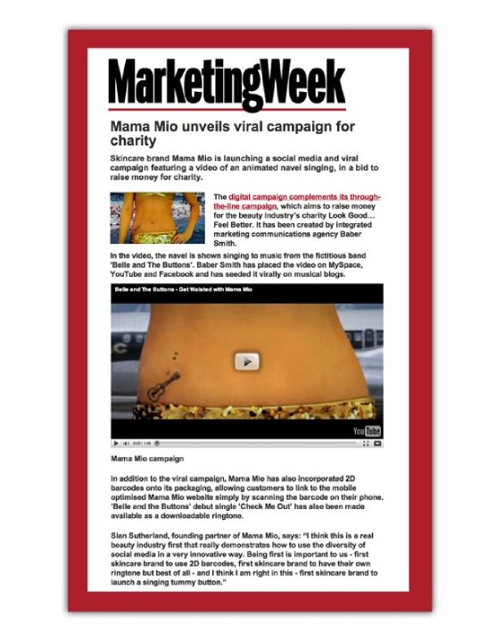 mama mio marketing week